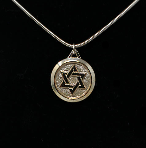 Star of David with Chain Necklace