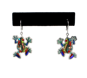 Seeka Frog Earrings