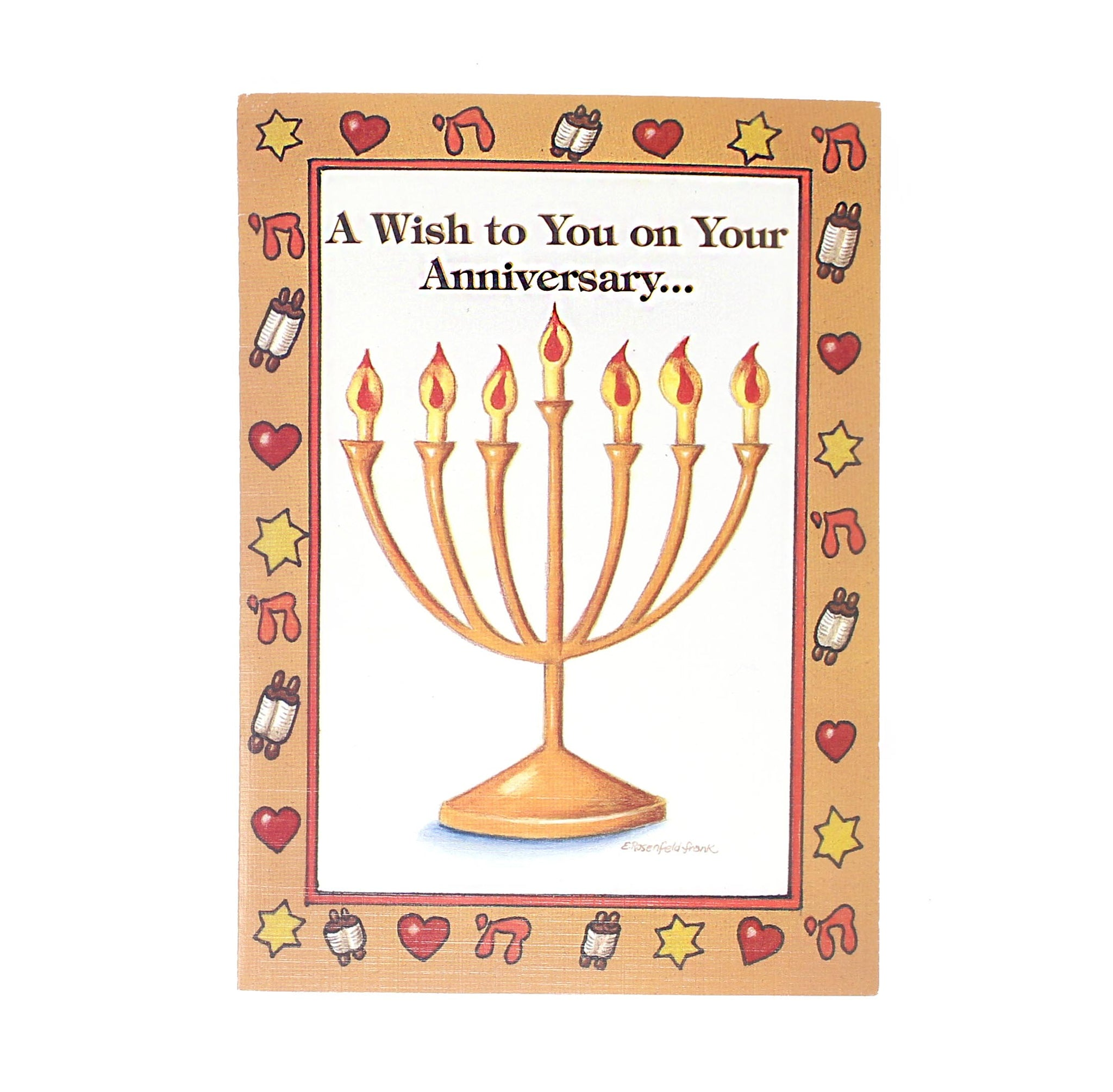 A Wish to You on Your Anniversary Card