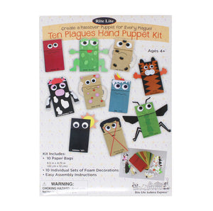 10 Plagues Hand Puppet Kit