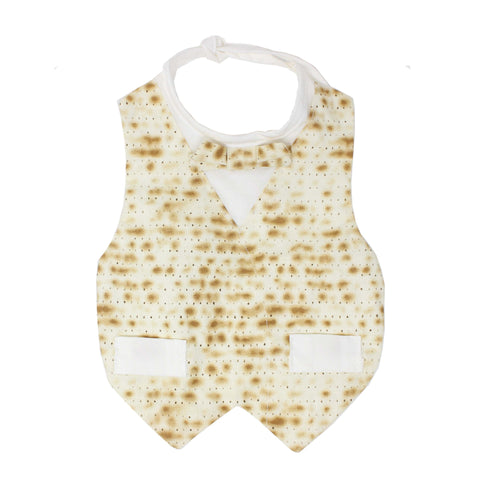 Matzah Bib for Baby Boy