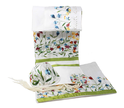 Karshi Colorful Flowers Tallit