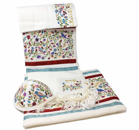 Emanuel Embroidered Bird Tallit