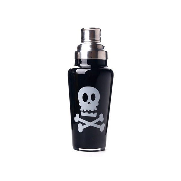 Poison - Retro glass pattern shaker 1L Capacity