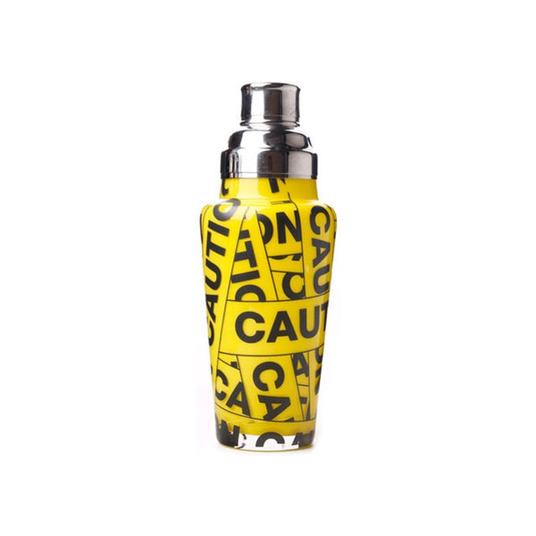 Caution - Retro glass pattern shaker 1L Capacity