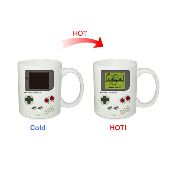 Magic Mug Temperature Color Changing - OG Gameboy