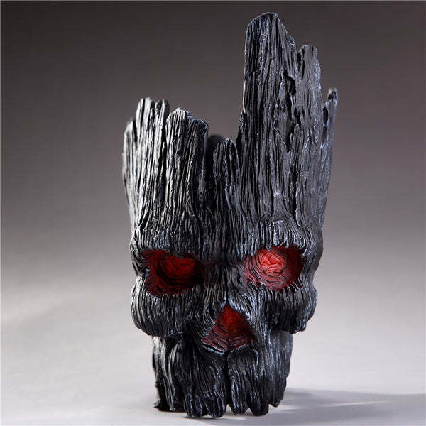 Ghost Bark Skull Flowerpot | 2 Versions