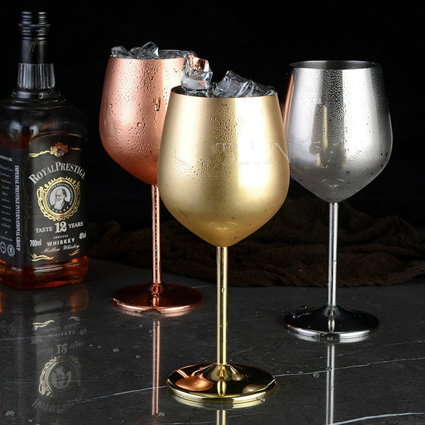 Stainless Steel Copper Plated Goblet