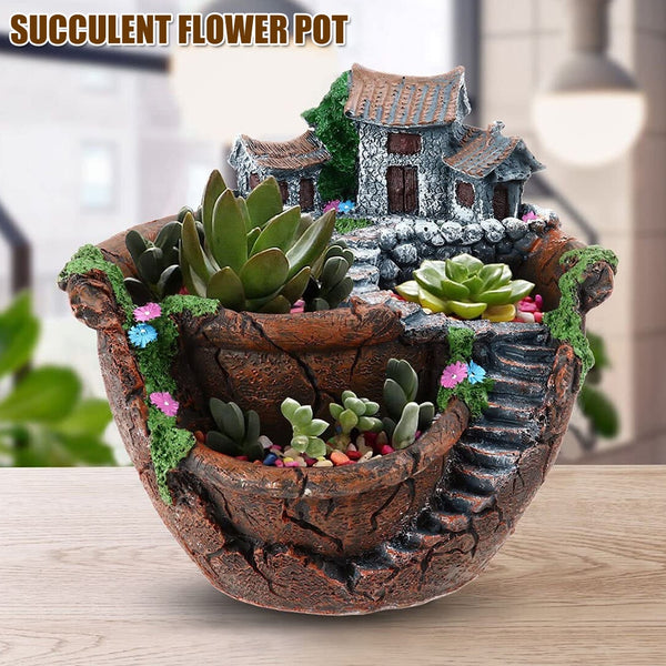 Fairy Garden Planter Flower Plant