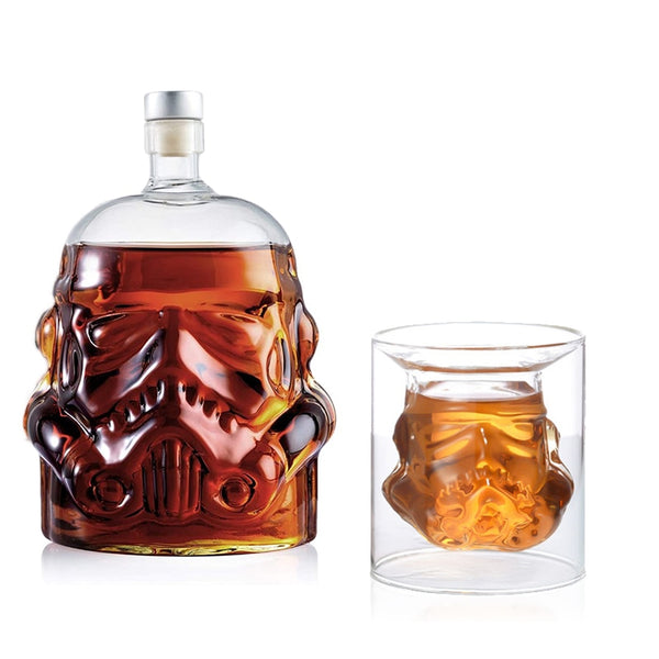 Whiskey Decanter Vader