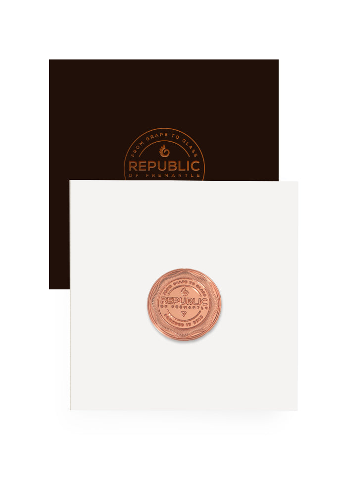 Copper Republic of Fremantle Coin Gift Voucher