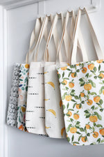 Load image into Gallery viewer, Canvas Tote Bag | Bananas