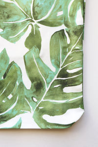 Canvas Tote Bag | Monstera