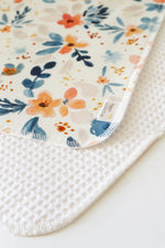 Load image into Gallery viewer, Fawn Florals Face Cloth