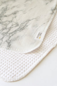 Grey Marble Face Cloth