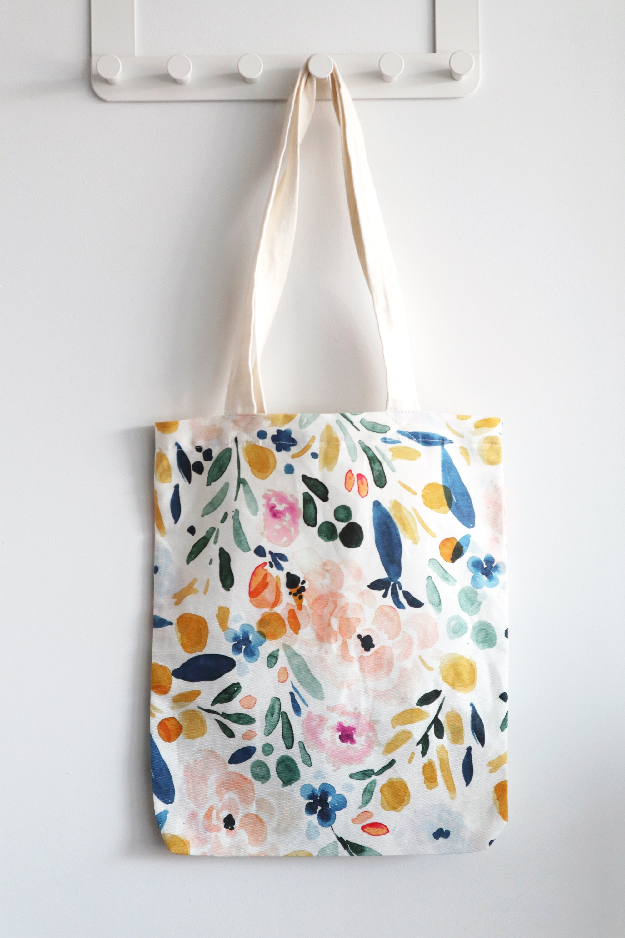 Canvas Tote Bag | Sierra Florals