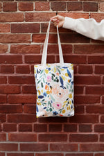 Load image into Gallery viewer, Canvas Tote Bag | Sierra Florals