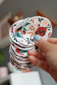 Rust Rose Cotton Rounds