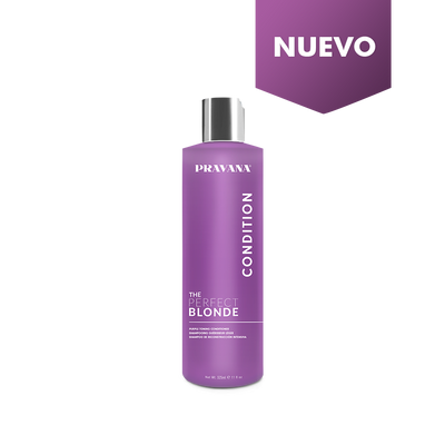 Acondicionador Violeta Perfect Blonde 325ml - Pravana - LLONGUERAS Chile