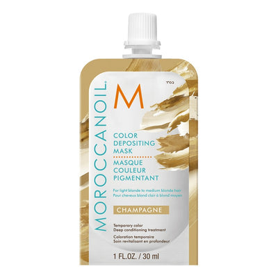 Máscara con color Champagne 30 ML - Moroccanoil - LLONGUERAS Chile