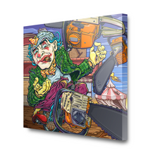 Load image into Gallery viewer, Clownin' Around Canvas