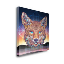 Load image into Gallery viewer, Coyote Shaman Canvas