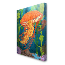 Load image into Gallery viewer, Jellyfish Canvas