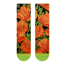 Load image into Gallery viewer, Poppies Socks