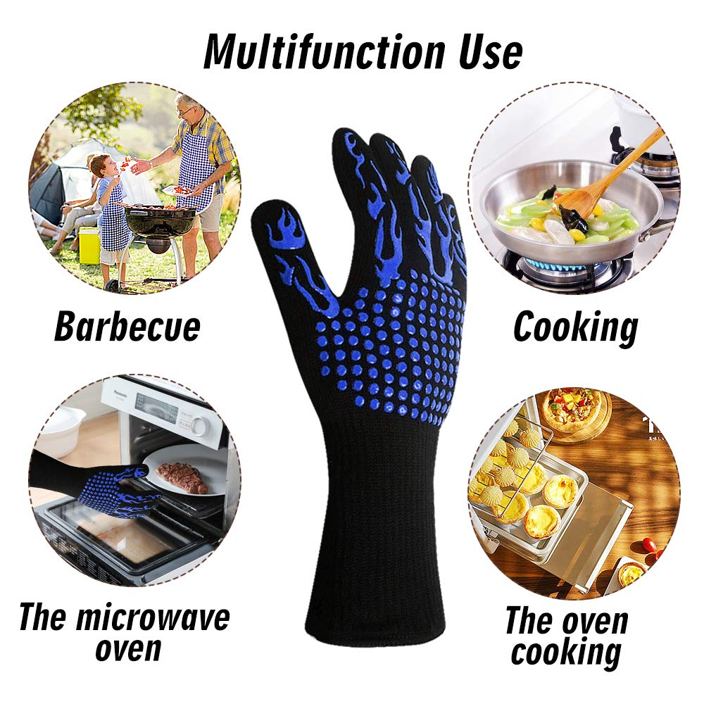 high temperature resistance silicone gloves