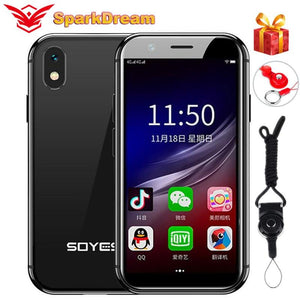 SOYES XS 3'' 4G LTE Android 6.0 Smartphone 2GB 16GB Smallest Quad Core Dual Sim Wifi GPS Unlocked Super Mini Touch Mobile Phone