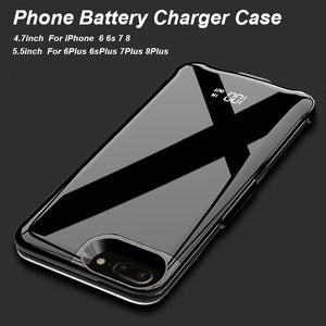 Thin Phone Battery Case For iPhone 6 6s