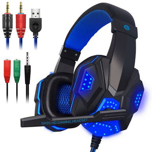 Professional Led Light Gamer Headset