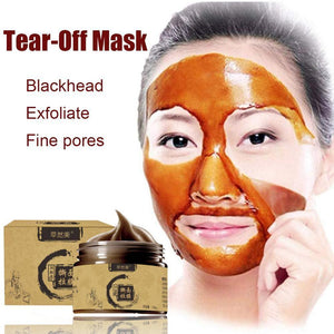 Black Head Peel Off Face-pack Mask