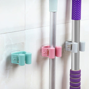 Mop Hooks Traceless Bathroom
