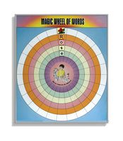 Magic Wheel of Words (Magnetic Board) -English
