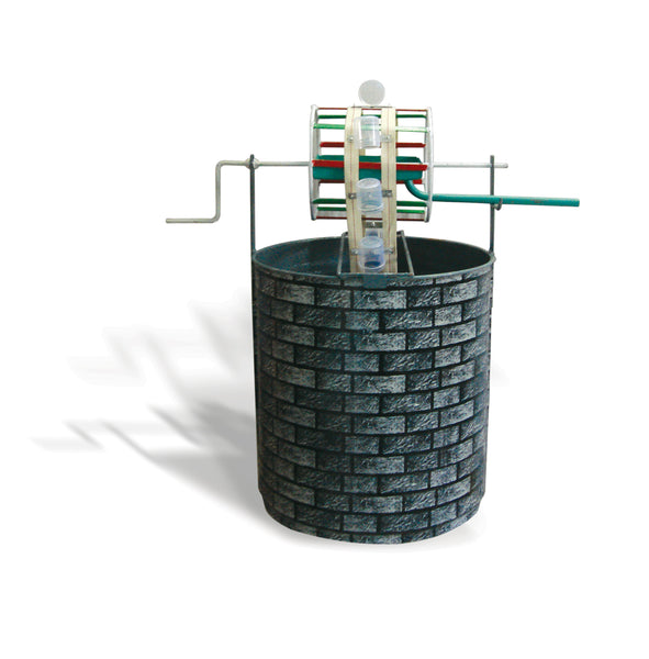 Rahat - Working model of pulley on a well -  (Height ~1.5')