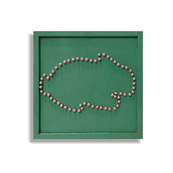 Beads Mosaic Board - Rabbit