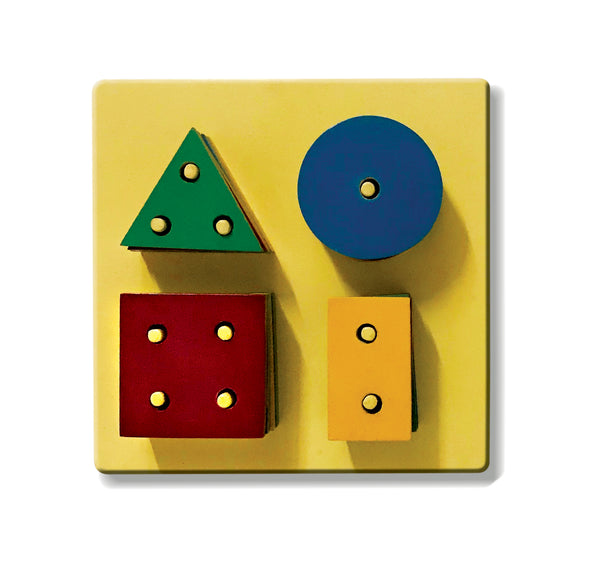 Shapes Stacking Boards