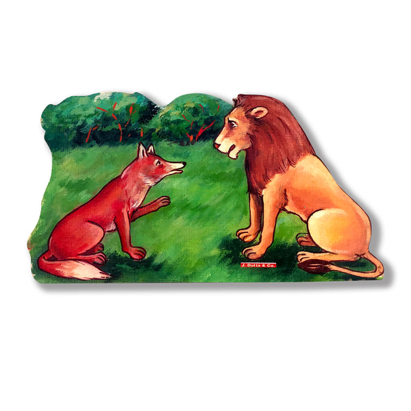 Fox and The Lion - Story Cut-outs