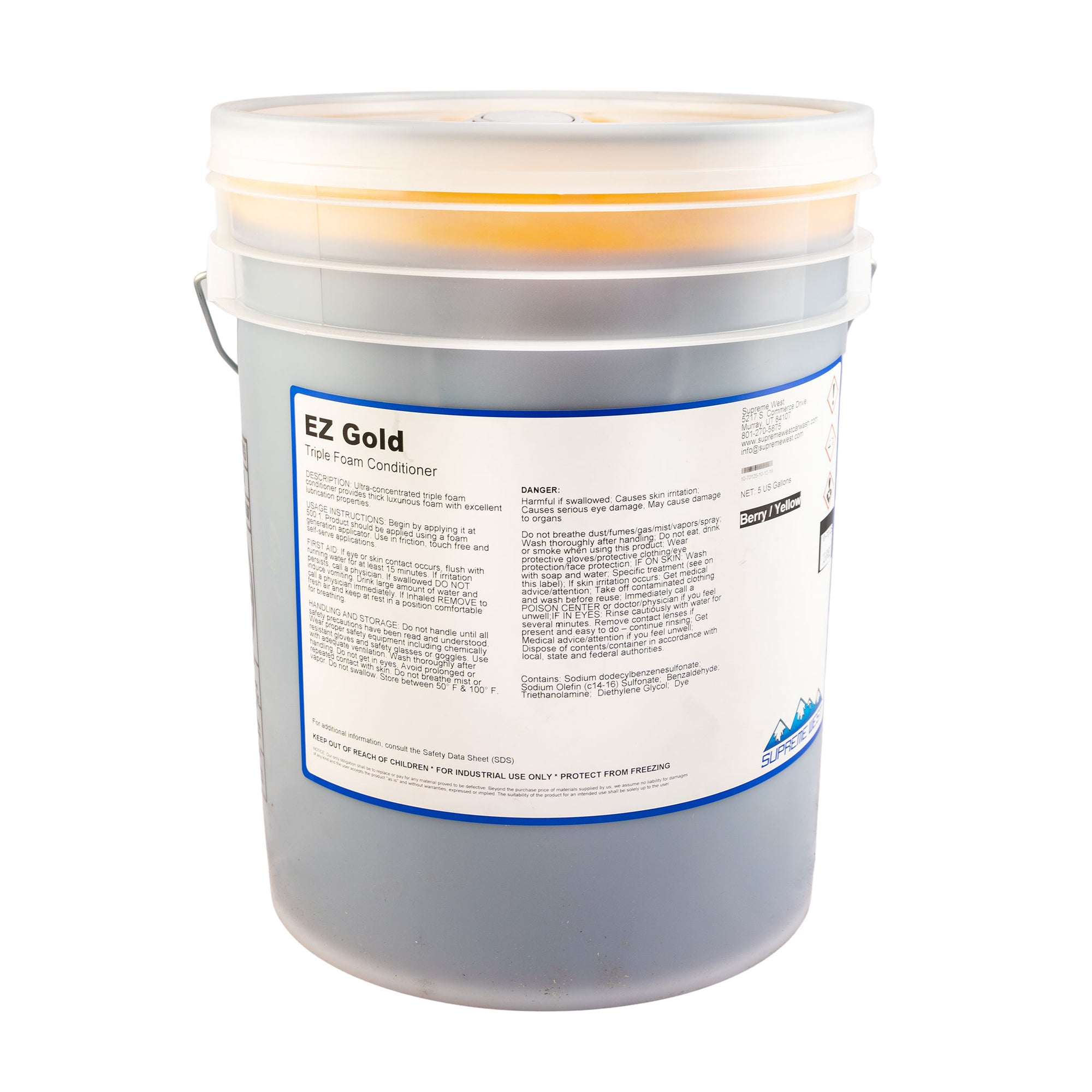 EZ Gold Tri Foam Concentrate