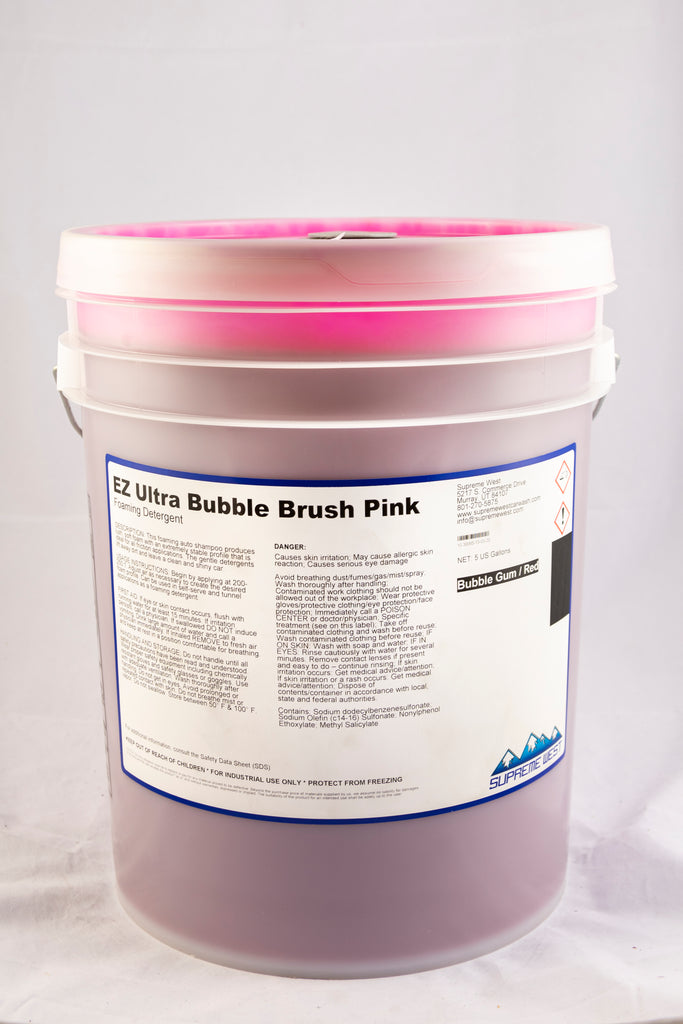 EZ Ultra Bubble Brush Pink