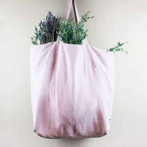 Pink Orchid Large Shopping Bag