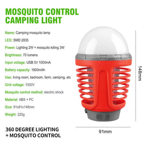 Bug Zapper LED Camping Lantern