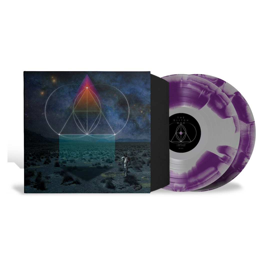 DRINK THE SEA PURPLE & SILVER VINYL