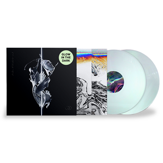 SEE WITHOUT EYES GLOW IN THE DARK BLUE 2LP SET