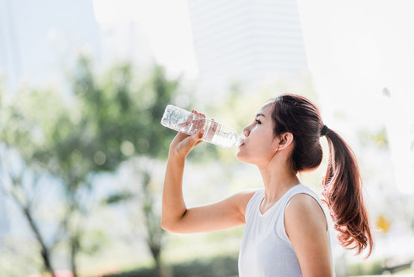 Keep hydrated to stay healthy