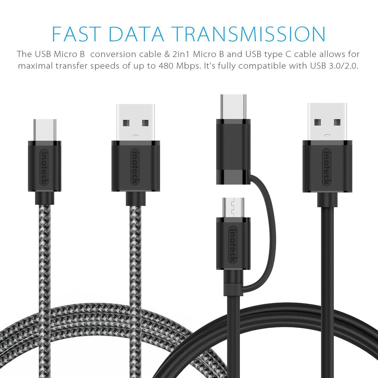 [2 units] USB Type C Data Cable CA2105