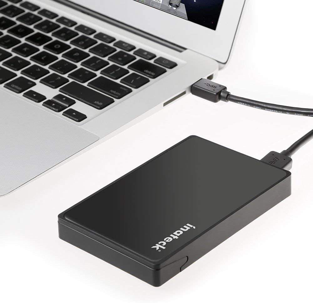 "2.5"" Hard Drive Enclosure with USB 3.0 Port and UASP Support Tool-Free, FE2005"