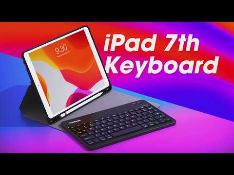 "10.5"" Detachable Bluetooth® Keyboard Case for iPad 8th 2020, KB02012"