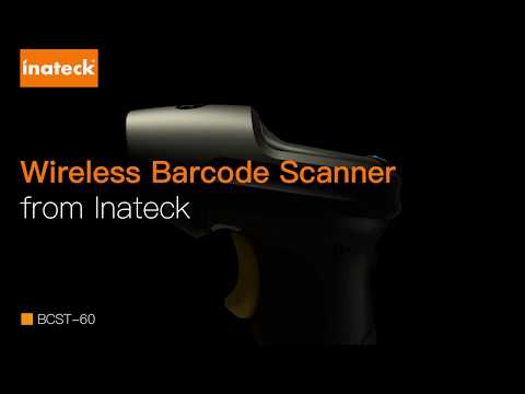 BCST-60 2.4GHz Wireless Barcode Scanner with 35m Range